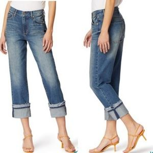 Nordstrom Habitual Straight Leg Cuffed Jeans